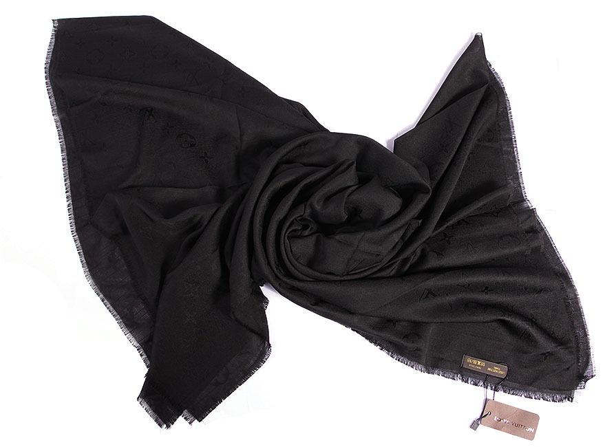 روسری مشکی نخی