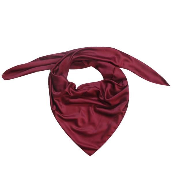 روسری ساتن سه گوش