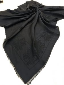 روسری ابریشم قواره بزرگ